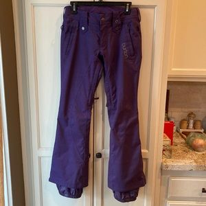 Purple Ski Pants